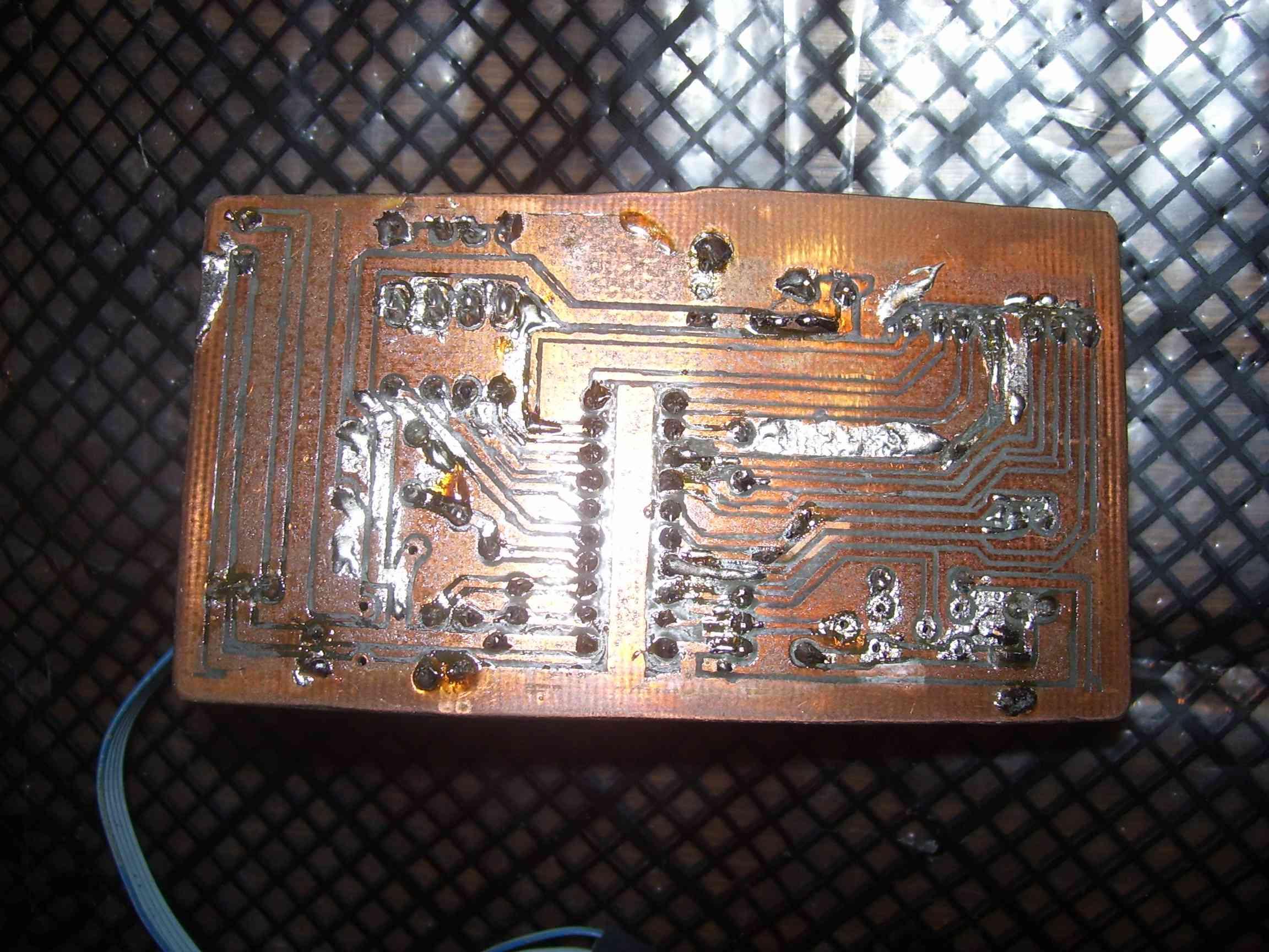 SPI/I2C board bottom side