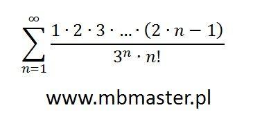 Szereg liczbowy - przykład