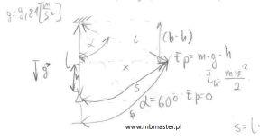 Mechanika kinematyka - wyznaczanie prędkości początkowej.